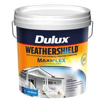 Dulux Weathershield Exterior Low Sheen Ultra Deep Base 15L