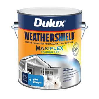 Dulux Weathershield Exterior Low Sheen Ultra Deep Base 2L