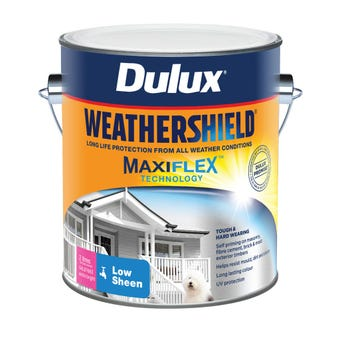Dulux Weathershield Exterior Low Sheen Extra Bright Base 2L