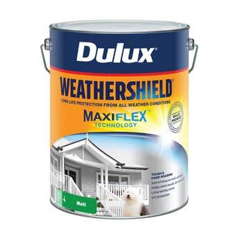Dulux Weathershield Exterior Matt Deep Base 10L