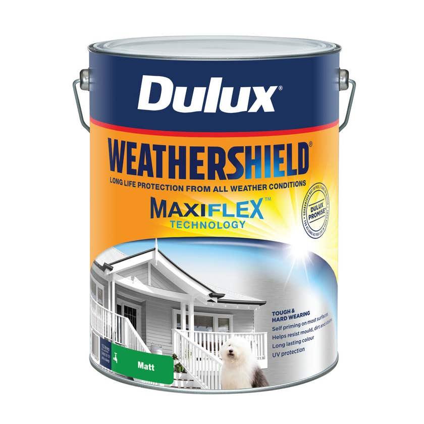 Dulux Weathershield Exterior Matt Ultra Deep Base 10L