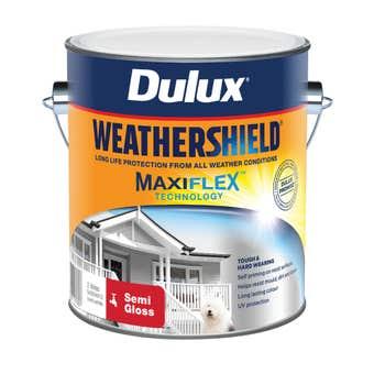 Dulux Weathershield Exterior Semi Gloss Vivid White 2L