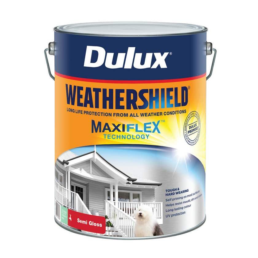 Dulux Weathershield Exterior Semi Gloss Deep 10L