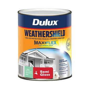 Dulux Weathershield Exterior Semi Gloss Deep 1L