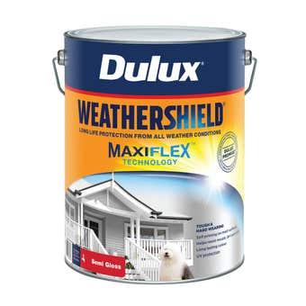Dulux Weathershield Exterior Semi Gloss Ultra Deep Base 10L