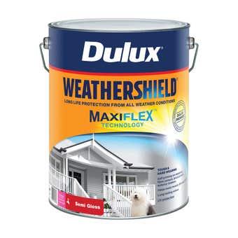 Dulux Weathershield Exterior Semi Gloss Extra Bright Base 10L