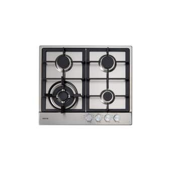 Euro Appliances Gas Cooktop with Wok Burner 600mm