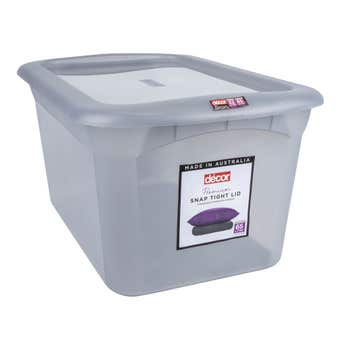 Decor Classique Storage Container Grey 65L