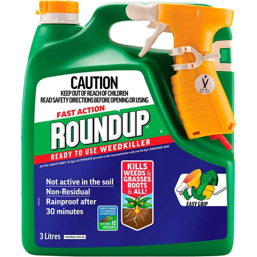 Roundup Fast Action Ready To Use 3L