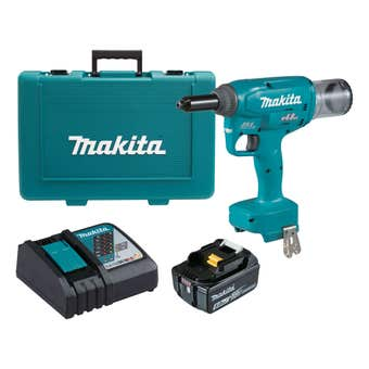 Makita 18V Brushless Rivet Gun 4.8mm Kit DRV150RT