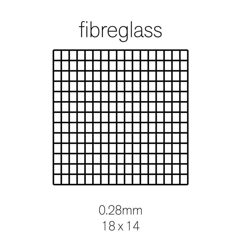 Cowdroy Insect Screen Fiberglas 1220mm x 2.05m