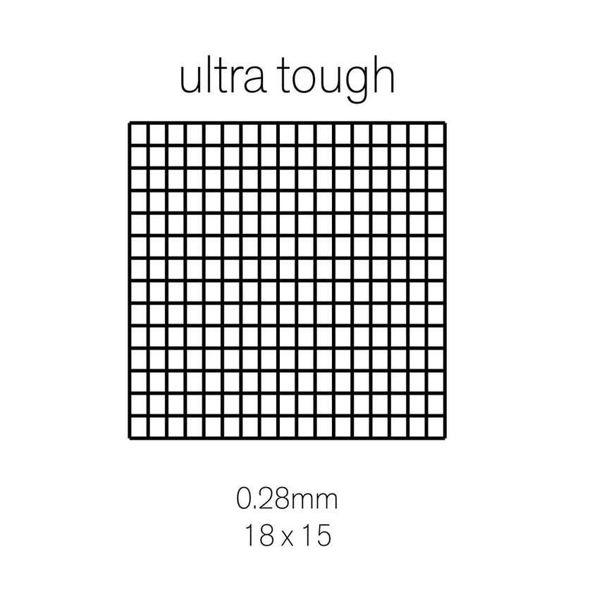 Cowdroy Ultra Tough Insect Screen Aluminium 1220mm x 2.1m
