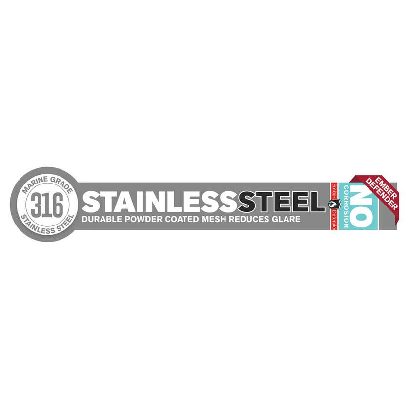 Cowdroy Stainless Steel Insect Screen 910mm x 2.1m