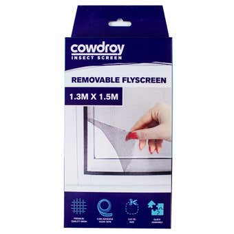 Cowdroy Removable Flyscreen 1.3 x 1.5m