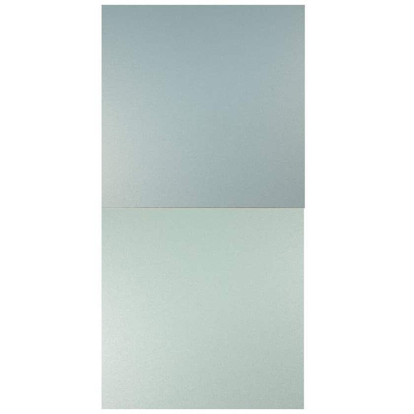 Alusion Double Sided Splashback Flash Green & Metallic Blue 1550mm