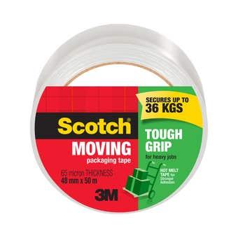 Scotch Tough Grip Packaging Tape 48mm x 50m