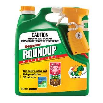 Roundup Regular Weedkiller Spray 3L