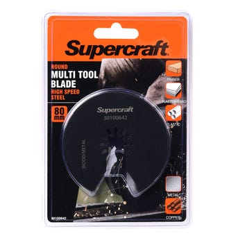 Supercraft Multi Tool Blade Round Metal 80mm