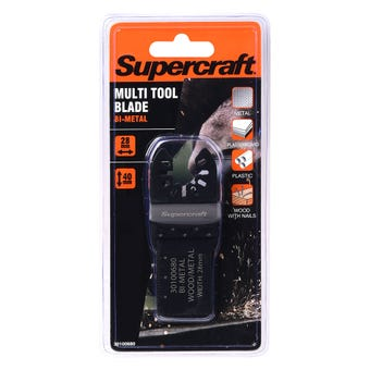 Supercraft Multi Tool Blade Bi Metal 28mm