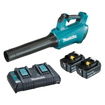 Makita 18V 5.0Ah Brushless Blower Kit DUB184PT2