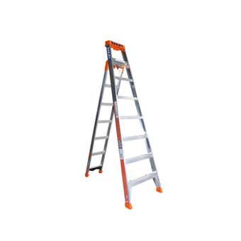Bailey 3 in 1 Ladder 8 Step 150kg Industrial 2.4m