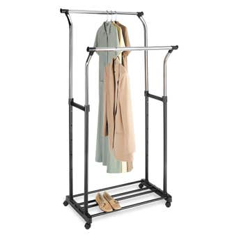 Whitmor Double Garment Rack