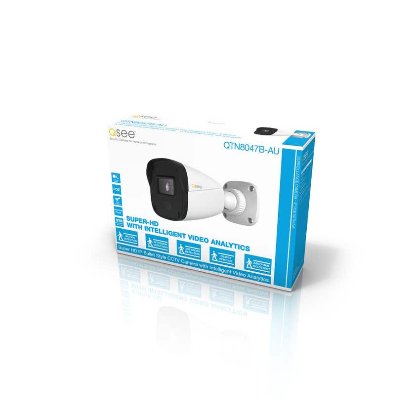 Q-See CCTV Super-HD PoE Camera