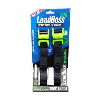Lion LoadBoss Heavy Duty Tie Downs 1m - 2 Piece