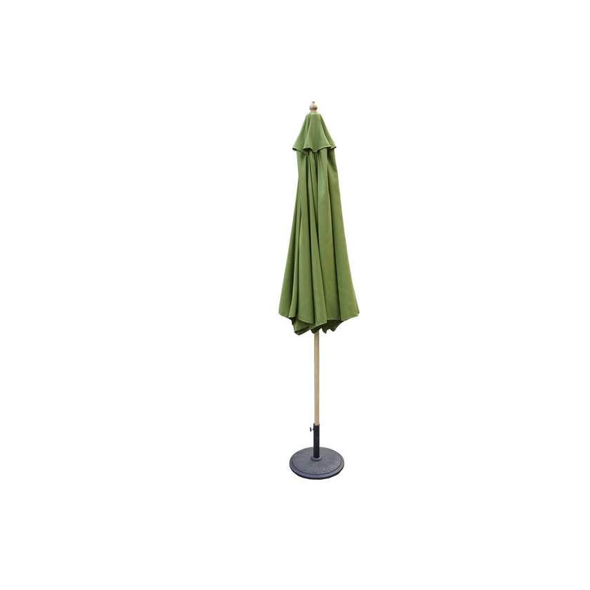 Timber Market Umbrella Olive 2.95m