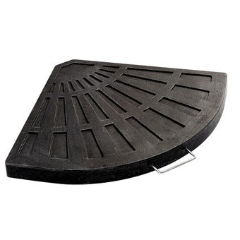 Polyresin Base for Cantilever Umbrella Black 20kg