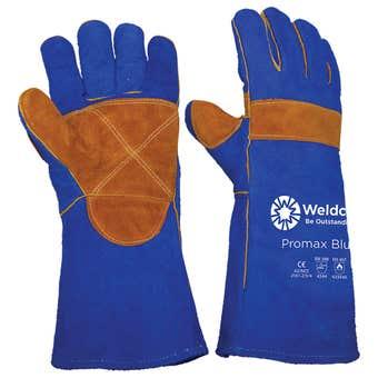 Weldclass Promax Blue Welding Gloves