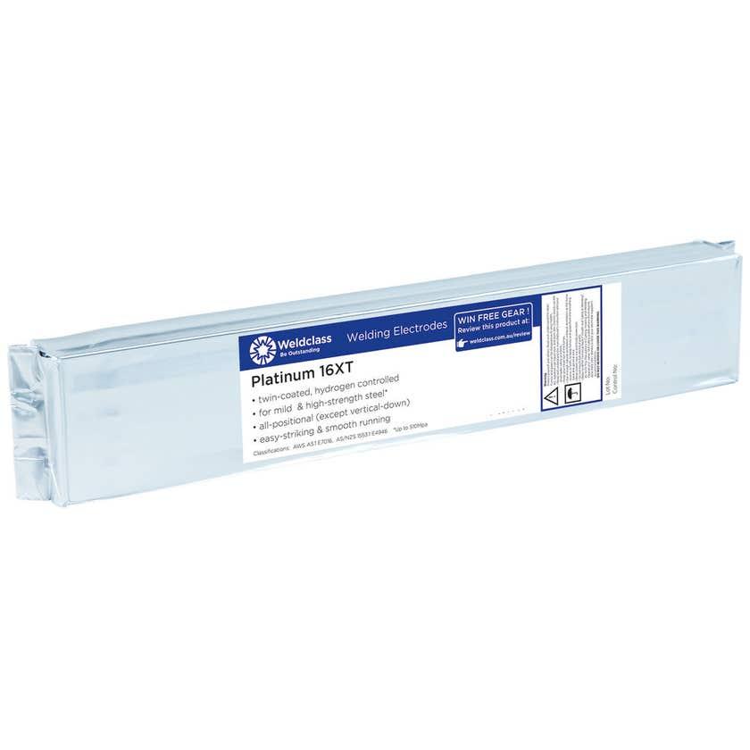 Weldclass Electrodes Platinum 16XT 2.5mm 2kg