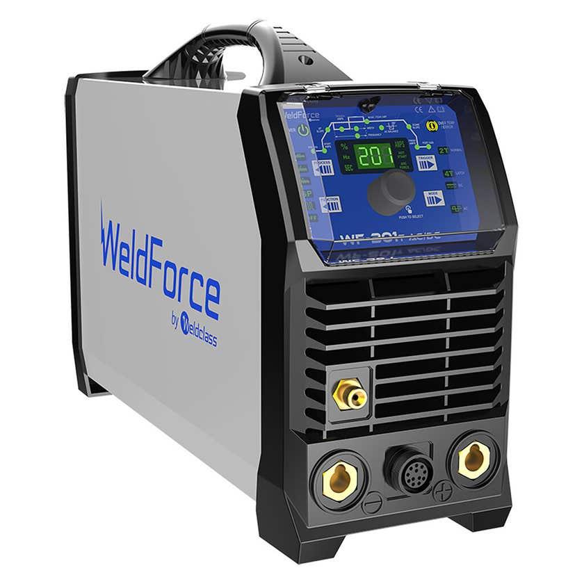 WeldForce WF-201T 200A AC/DC Pulse TIG Welder