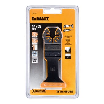 DeWALT Titanium Multi-Tool Blade Wood/Metal 44x55mm