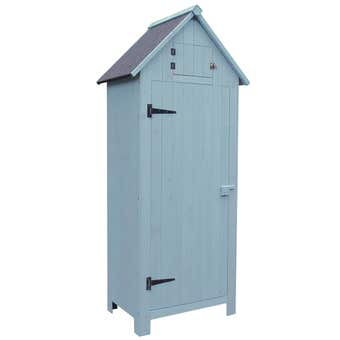 Timber Shed Blue