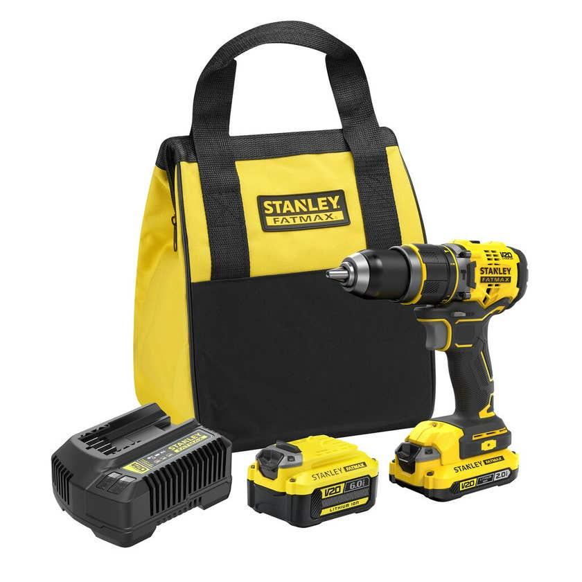 Stanley FatMax Drill Hammer Brushless Kit SFMCD721DR2-XE