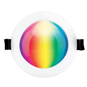 Brilliant Smart Prism RGB CCT 10W Downlight Dimmable