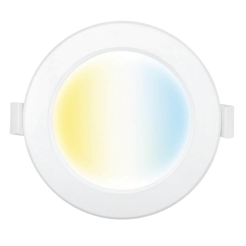Brilliant Smart 9W LED Dimmable Downlight Trilogy CCT