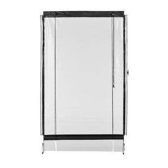 Portico Blind Clear 0.7mm Gauge 1.5 x 2.4m