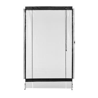 Portico Blind Clear 0.7mm Gauge 2.7 x 2.4m