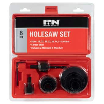 P&N Hole Saw Set - 11 Piece