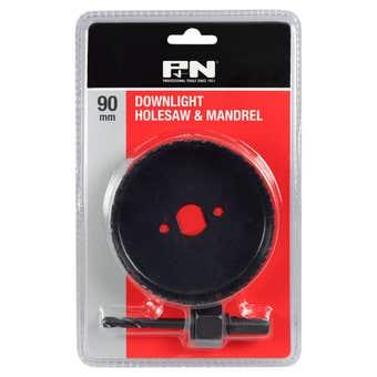 P&N Downlight Hole Saw & Mandrel Set - 2 Piece
