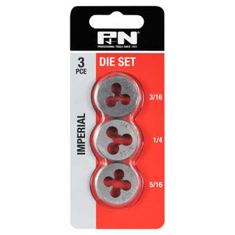 P&N Imperial Button Die Set - 3 Piece