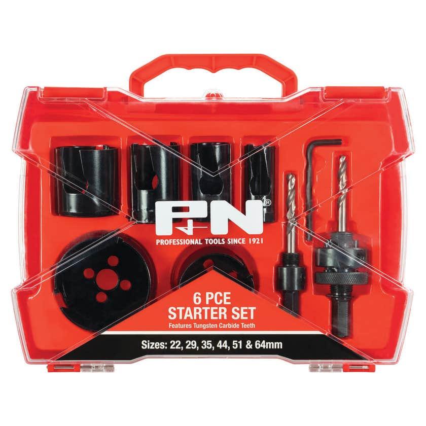 P&N TCT Holesaw Set Starter - 6 Piece