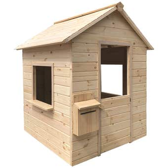 Cubby House Natural H1330 x W1000 x D1030mm