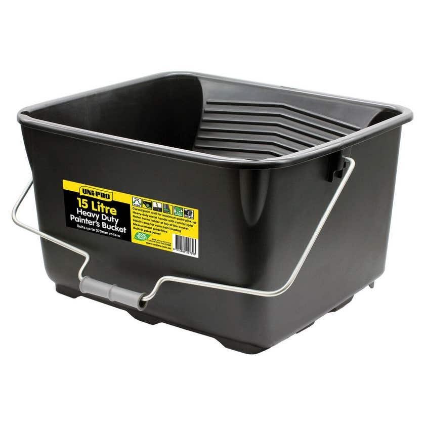 Uni-Pro Heavy Duty Painters Bucket 15L