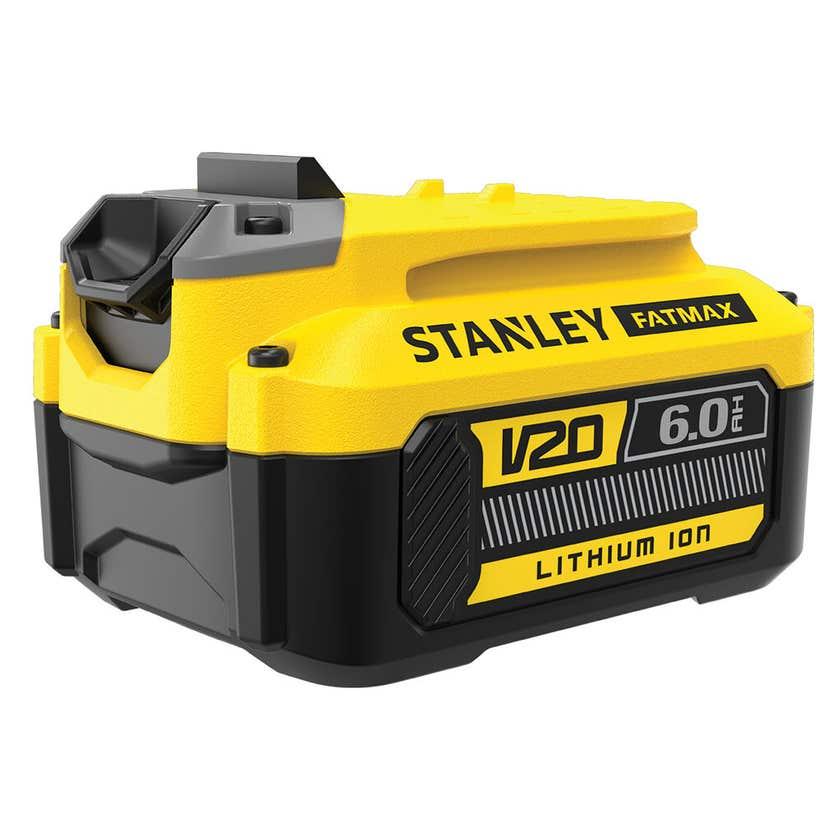 Stanley FatMax V20 18V 6.0Ah Lithium Battery