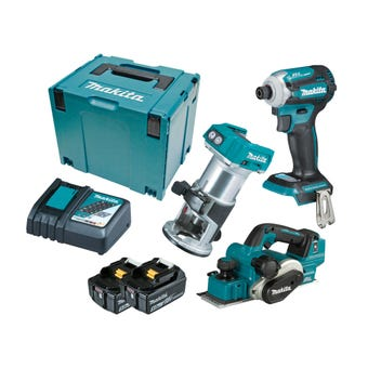 Makita 18V 5.0Ah Brushless Combo Kit - 3 Piece DLX3134TJ
