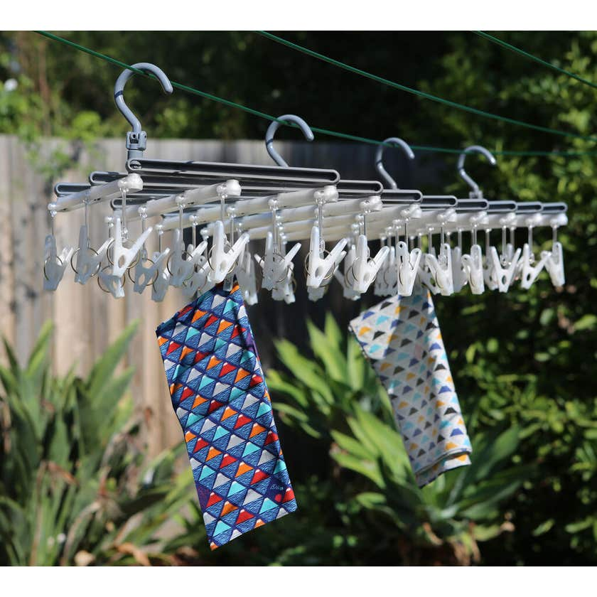 Collapse-A-Peg Peg Airer Large 44 Pegs
