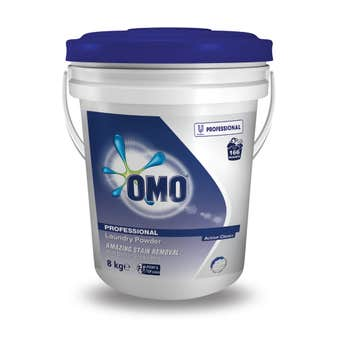 OMO Professional Laundry Powder Front/Top Loader 8kg Bucket
